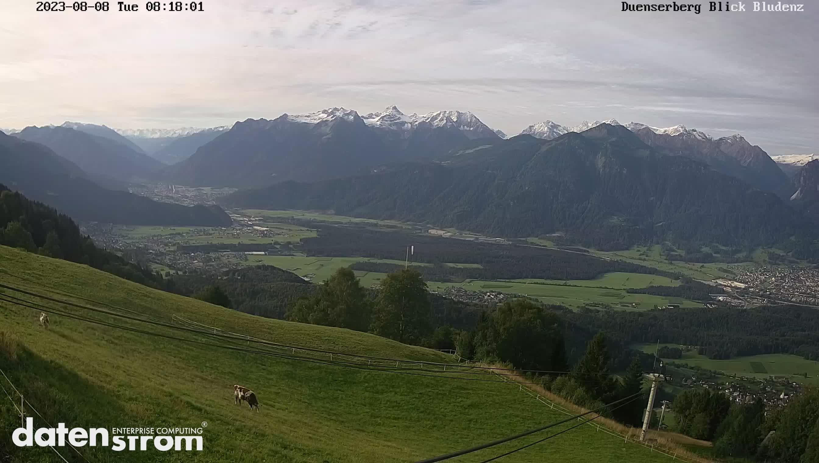 Webcam Bild von Bergstation Seilbahn Schnifisberg